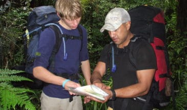 Surviving and navigating in new Zealand outdoor wilderness